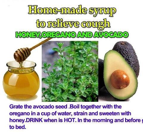 honey avocado syrup